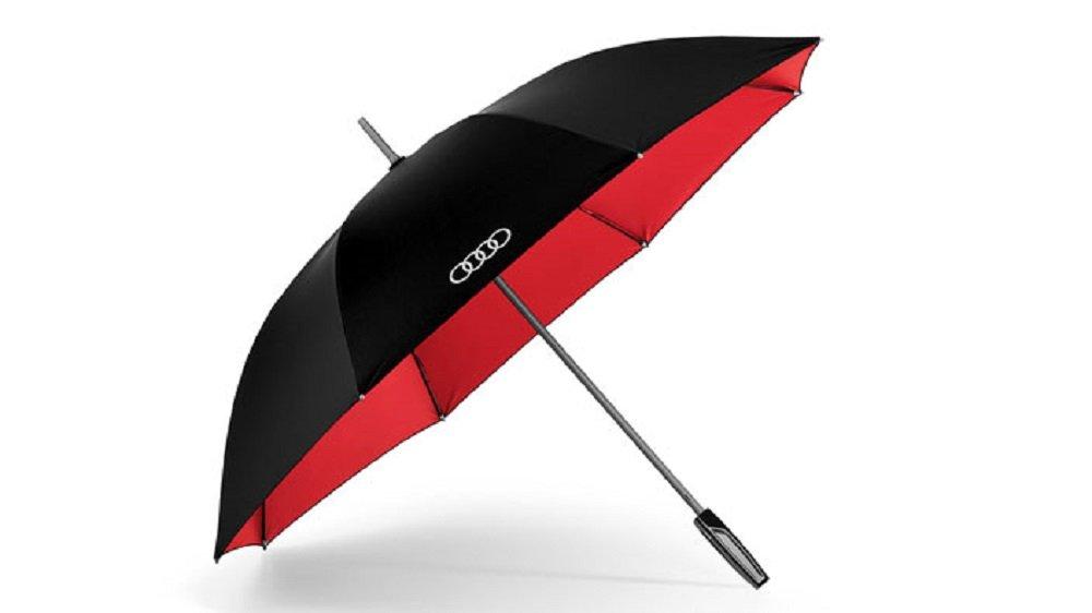 quattro GmbH Audi Original Parapluie Noir grand/rot3121500200 Audi AG