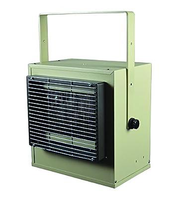 TPI H3H5705T Series 5700 Confined Space Plenum Rated Heater, 3750 W, 12799 BTU