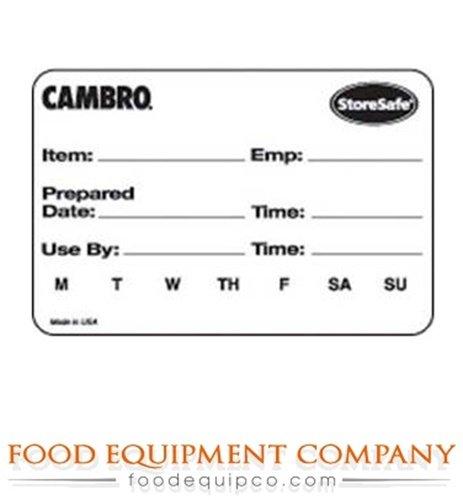 Cambro 23SLB6250 StoreSafe Food Rotation Label 2