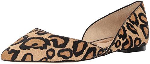 Sam Edelman Women's Rodney Ballet Flat, New Nude Leopard, 8.5 M US (Best D Orsay Flats)