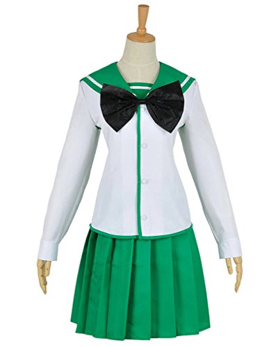 Saeko Costume Busujima (CosplayNow Highschool Of The Dead Saeko Busujima Cosplay Costume White)