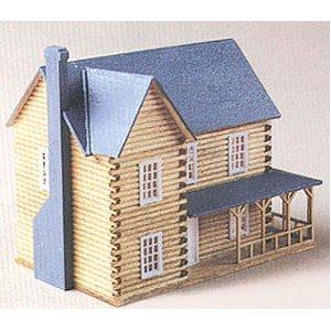 Dollhouse Dh3 Log House Kit
