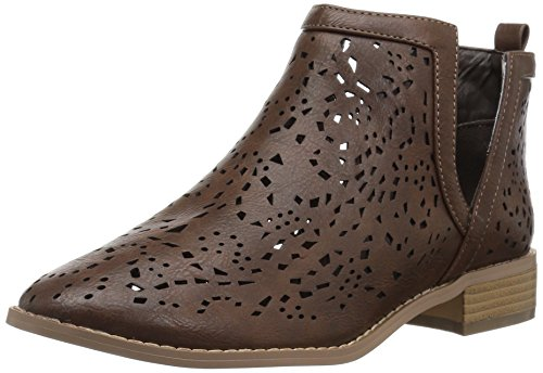 Brinley Co Femmes Patti Bottine Marron