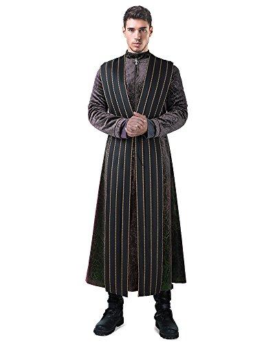 miccostumes Men's Littlefinger Petyr Baelish Cosplay Costume Halloween Outfit (L) -