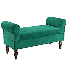 Linon Lillian Upholstered Bench