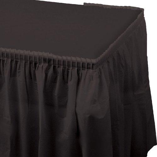 Hoffmaster 110013 Plastic Tableskirt, 14' Length x 29