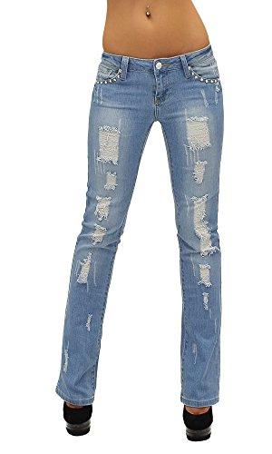 pantalon Jean tex BB Boot femme Jean j13 by Cut Typ basse taille bootcut 0UT5Tqxa