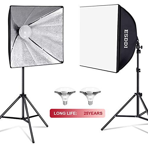 ESDDI Softbox Lighting Kit