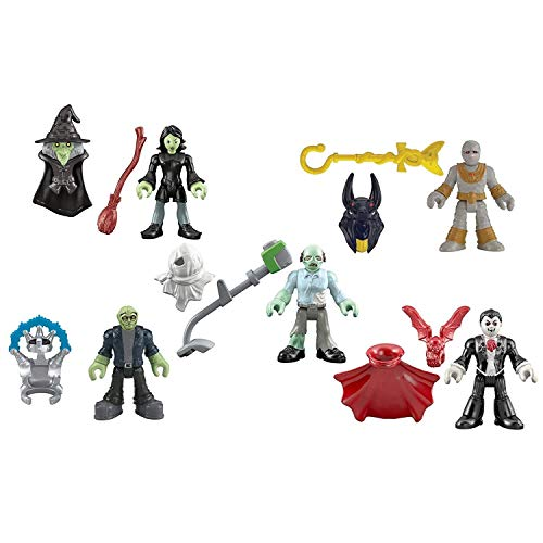 Fisher-Price Imaginext Mini Figures, Halloween -