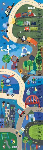 Oopsy Daisy Growth Charts on Our Way by Jill McDonald, 12 by 42-Inch by Oopsy Daisy