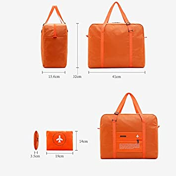 Large Capacity Waterproof Travel Duffle Bag Travel Handbags for Women Luggage Organizer Packing Cubes for Girl Green 1 Pcs 16x12.6 Inch Waterproof Travel Bag for Women Men