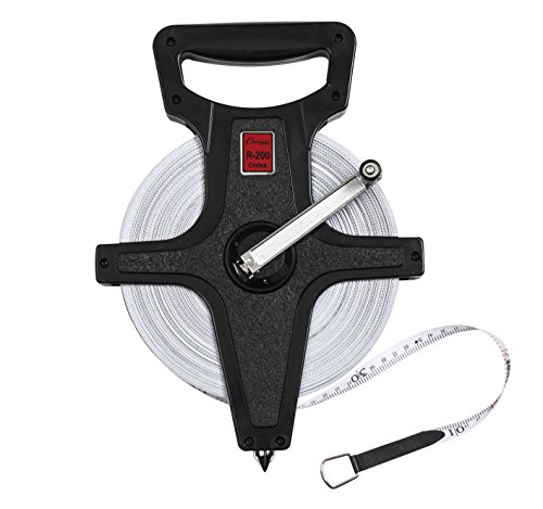 Champion Sports Open Reel Measuring Tapes, (Open Track)