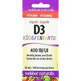 Webber Naturals Vitamin D3 Kids Liquid, Natural, 35ml