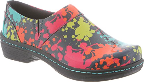 Back Closed Footwear Nursing Mission Women's Clog KLOGS Splatter d6a7RIWR
