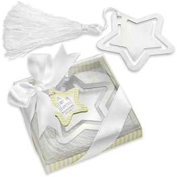 kateaspen Metal Bookmark with White-Silk Tassel, A Star is Born