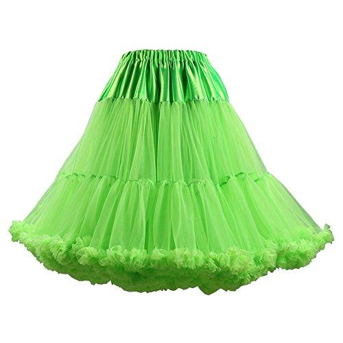 Mousseline Jupon Fruitgreen Femmes layer Jupe Tutu Ballet de Ruffled PhilaeEC Soie Multi Lolita ZqI4g