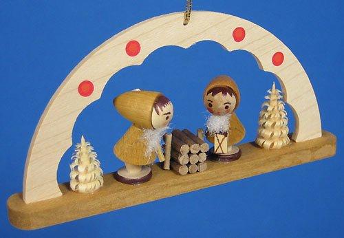(Richard Glaesser Arch Ornament Dwarves Made in Germany )