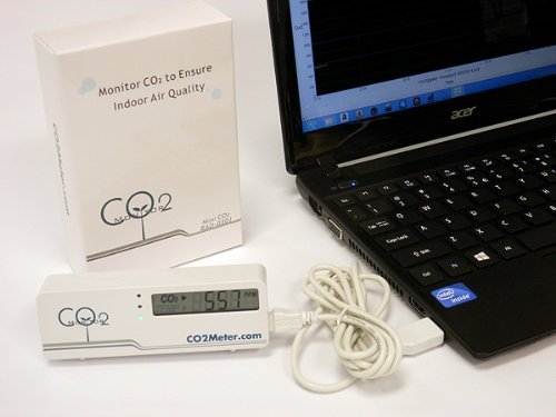 CO2Meter RAD-0301 Mini CO2 Monitor, White