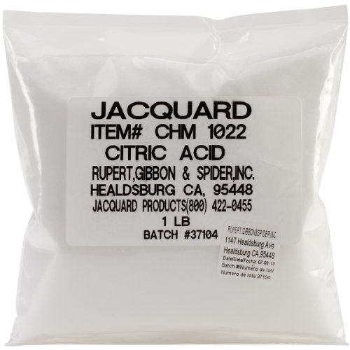 Jacquard Quilting Fabric - Jacquard Products Jacquard Citric Acid, 1-Pound