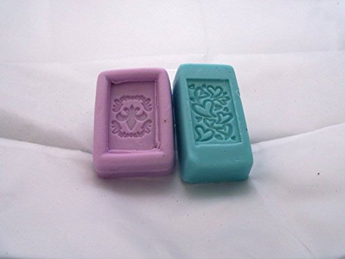 Handmade Goats Milk Soap. With or Without Vitamin E Acetate. Made stamped or plain, shrink wrapped to prevent drying.