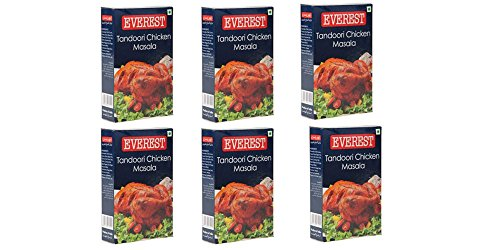 Everest Tandoori Chicken Masala - 100g Pack of 6 by EVEREST