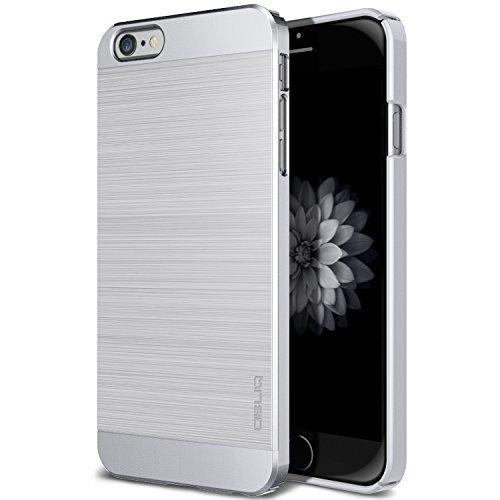 iPhone 6S Case, OBLIQ [Slim Meta][Satin Silver] Premium Slim Fit Thin Armor All-Around Shock Resistant Polycarbonate Metallic Case for Apple iPhone 6S (2015) & iPhone 6 (2014) ()