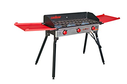 Deluxe 3 Burner Stove - Camp Chef Deluxe Burners