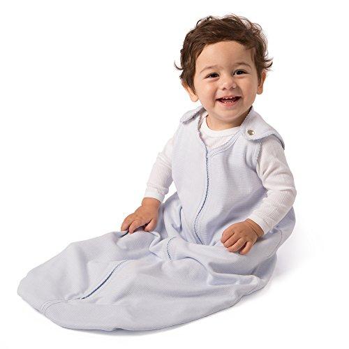 baby deedee Sleep Nest Lite, Sleeping Bag Sack - Blue Stripe, M (6-18 Months) ()