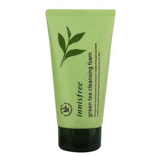 Innisfree Green Tea Pure Cleansing Foam 5.07 Oz/150Ml