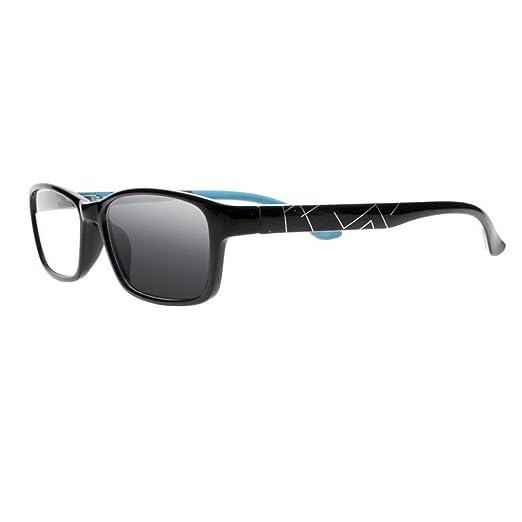 646b2b0c63 Mens Womens Transition Photochromic Bifocal Reading Glasses Sun Readers  Sunglasses (Black