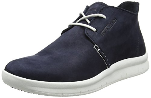 camel active Wave 12, Polacchine Uomo Blu (Midnight 01)