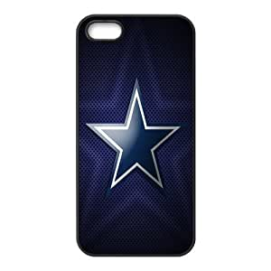 Custom Dallas Cowboys NFL Series Back Cover Case for iphone 5,5S JN5S-1886