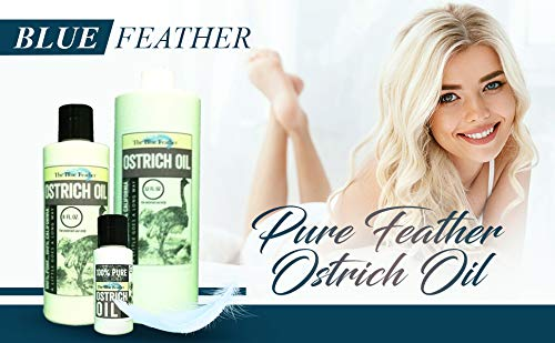 PURE 100% OSTRICH OIL 4 OZ. NOT IMPORTED. Improves Wrinkles, roughness, relieves eczema, gets rid of rashes and dry skin