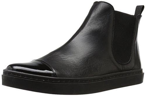 Heel Black Patent Ankle Boot - 3