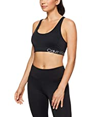 CALVIN KLEIN Women's Elastic Back Sports Bra