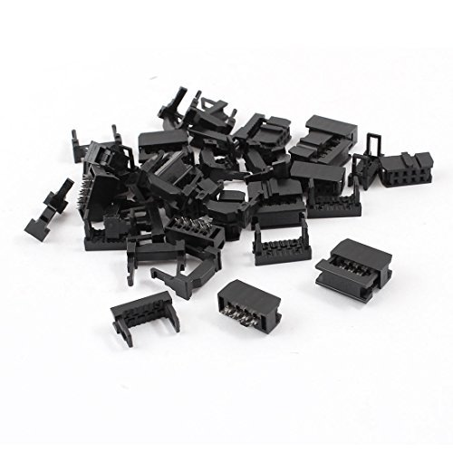 15 Pcs FC-8P 2x4 broches femelle Header IDC Connecteur de câ ble 2, 54 Emplacement DealMux DLM-B00O9YT2TS