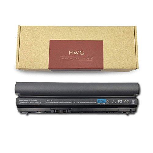 - HWG E6320 Battery (6-Cell) Compatible Dell Latitude E6120 E6220 E6230 E6320 E6320 XFR E6330 E6430S etc. Series, Fits P/N: FRR0G RFJMW K4CP5 7FF1R 312-1242 RXJR6 TPHRG CPXG0 WJ383 (11.1V 5200mAh)