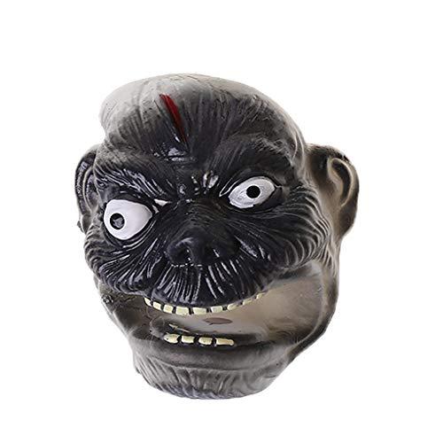 hibyebuying Halloween Mini Ghost Monster Finger Puppet Play Children Story-Telling Prank Toy