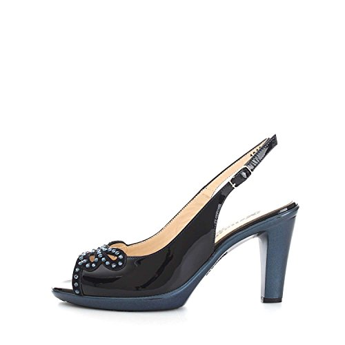 Melluso R50103 Sandales Femme Blue LXcAvUs9i