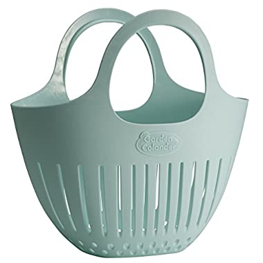 Hutzler Mini Garden Colander, Light Blue