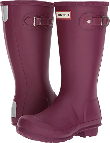 Hunter Kids Unisex Original Kids' Classic Rain Boot (Little Kid/Big Kid) Violet 4 M US Big Kid M