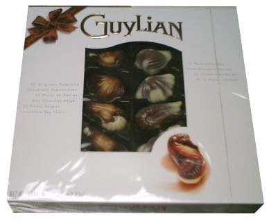 Guylian Belgian Chocolate Sea Shells Perles d' Ocean, 8.82 Oz
