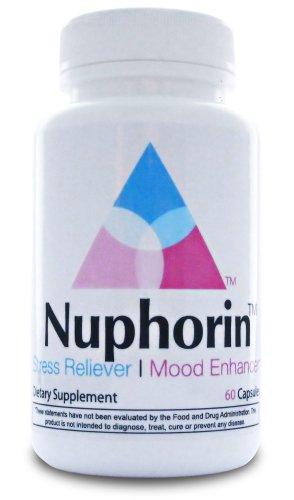 Nuphorin ™ action rapide soulagement de l'anxiété ✭ qualité pharmaceutique Anti-Anxiété formule pour l'anxiété, le stress de secours et les attaques de panique avec du magnésium, Ashwagandha, 5-HTP, le GABA, acide folique, DMAE, Niacinamide, de camomille