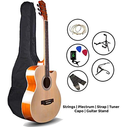 LD Kadence Frontier Series Natural Acoustic Guitar Super Combo