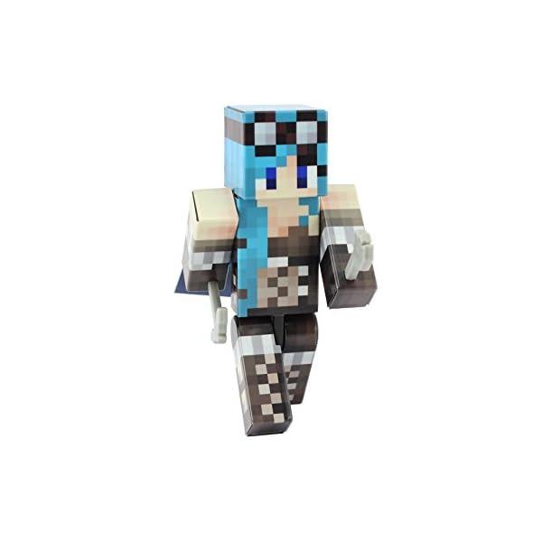EnderToys Steampunk Girl Action Figure Toy, 4 Inch Custom Series Figurines 3