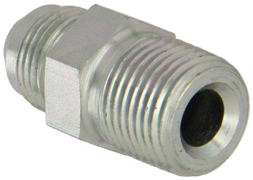 Eaton Aeroquip 2021-8-8S Male Connector, Male 37 Degree JIC, Male Pipe Thread, JIC 37 Degree & NPT End Types, Carbon Steel, 1/2 JIC(m) x 1/2 NPT(m) End Size, 1/2