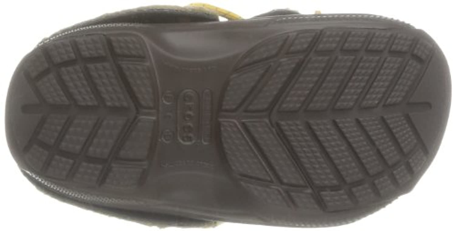 Crocs Blitzen Convertible, Unisex-Child Clogs, Brown (Espresso), 6/7 UK Child