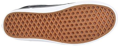 Scarpe Stripe Ginnastica da Basse Nero Uomo Textile Mn Vans S17 Chapman qExanwFIt