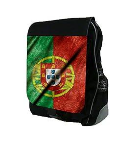 Portugese Flag School Backpack