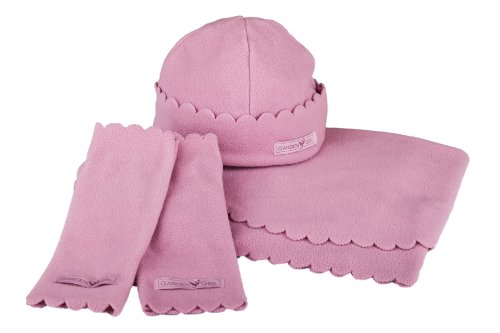Garden Girl USA Gardening Fleece Set, One Size, Pink